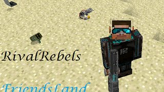 Обзор мода RivalRebels для minecraft 1.7.10|Истребитель