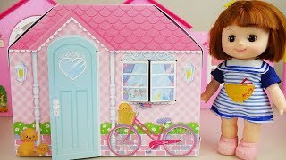 Baby doll and toys house and camping car toy play thumbnail
