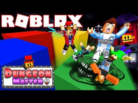Roblox | KHI THÁNH NHỌ KIA KÉO CẢ ĐÁM CHẾT CHÙM - Dungeon Master | KiA Phạm