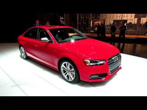2012 Audi S4 Exterior and Interior at 2012 New York International Auto Show NYIAS