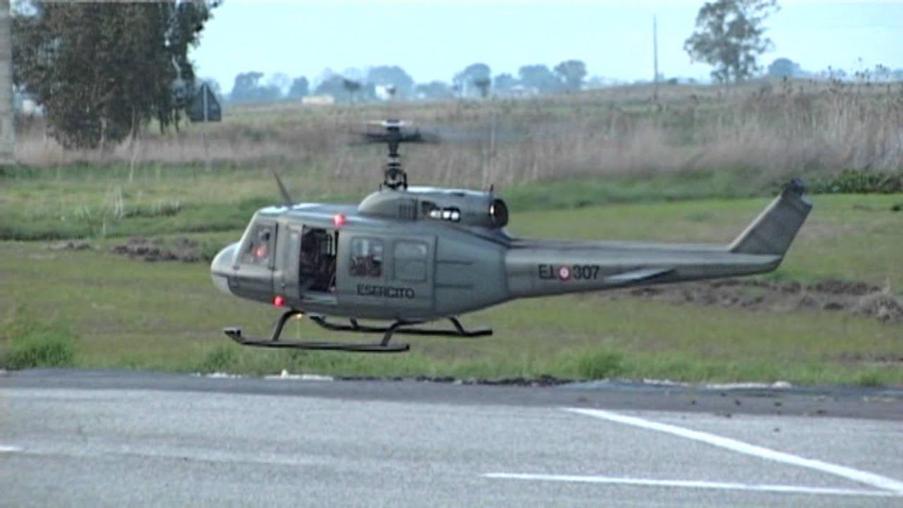 Elicottero 205 : Elicottero bell uh h radiocomandato youtube