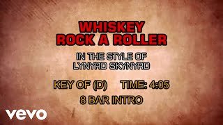 Lynyrd Skynyrd - Whiskey Rock-A-Roller (Karaoke)