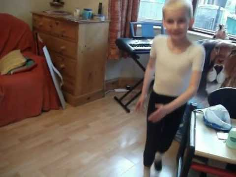 Teddy , ISTD Modern Exam Grade 2, Step Ball Change Exercise Practice