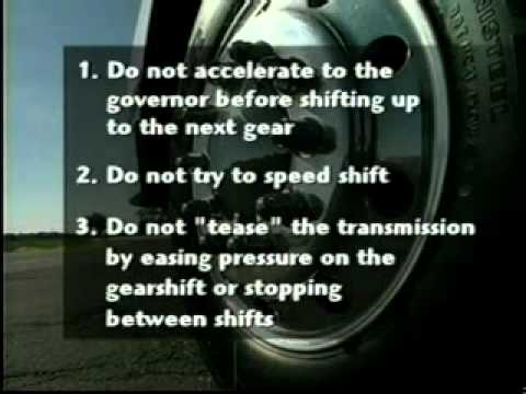 How to operate EASY-SHIFT™ Spicer TTC Transmission