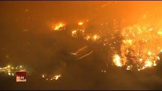 Los Angeles luxusnegyedét is elérte a kaliforniai erdőtűz