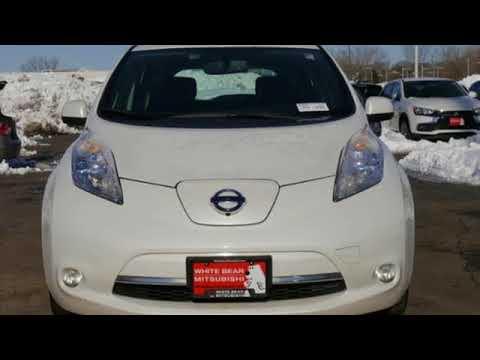 Used 2013 Nissan Leaf Saint Paul White Bear Lake Mn W84486b Youtube