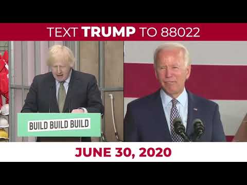 "Joe Biden copies Boris Johnson's slogan ""Build Back Better"""