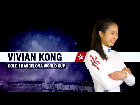 Man Wai Vivian Kong // Barcelona women's epee World Cup