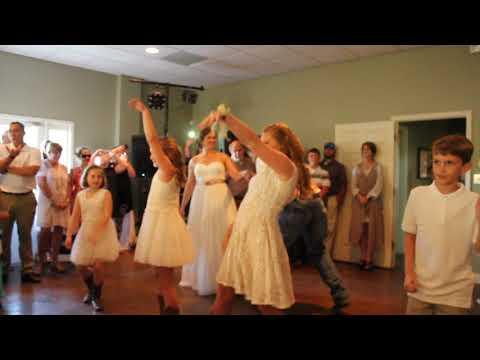 Blended family-first wedding dance!
