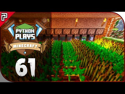 Auto Crop Farm With Item Filter! | Minecraft 1 11 PC
