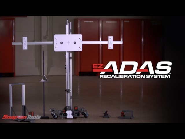 Video Snap-on EZ-ADAS kalibratie equipment Nederlands