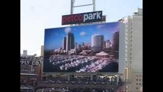 New HD Sign unveiled - Petco Park