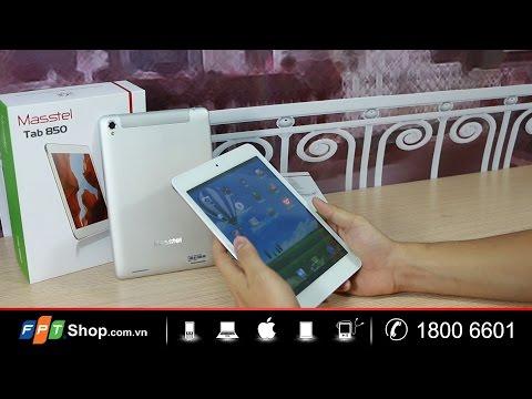 FPT Shop - Đập hộp - Masstel Tab 850 : Sang trọng, thể hiện đẳng cấp
