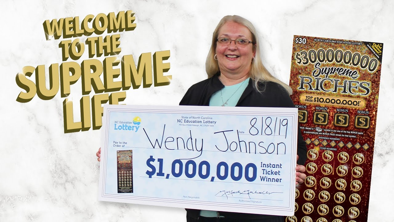 Wahoo!' Charlotte grandmother says after getting a $1 million phone call