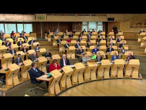 First Minister's Questions - Scottish Parliament: 22nd December 2016
