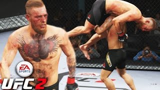 Conor McGregor Takes On Div. 7 Wrestler! Shocking Ending To A Good Fight! EA Sports UFC 2