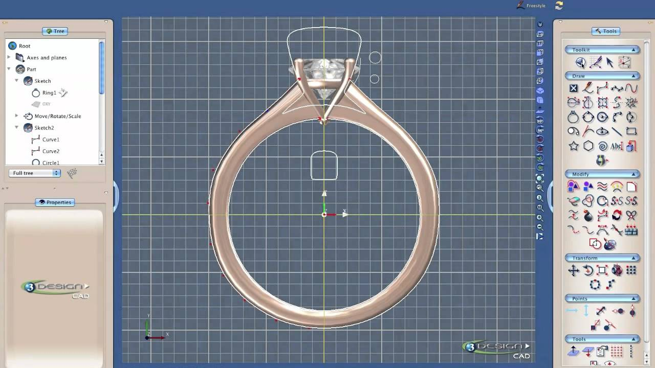 Computer Aided Jewellery Design - CAD - Fast!