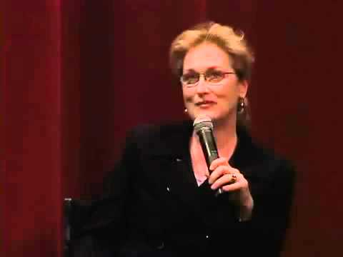 Meryl Streep - Lemony Snicket Screening - Interview