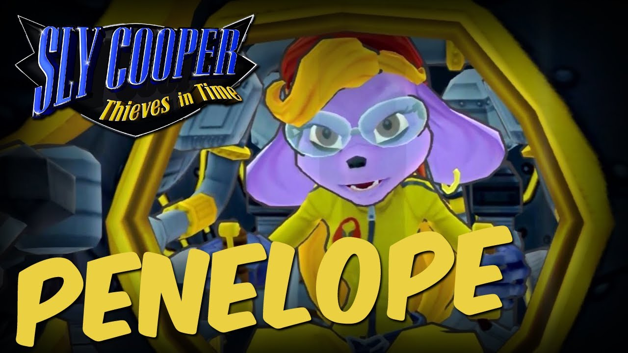Sly Cooper Thieves In Time Boss Penelope Black Knight No
