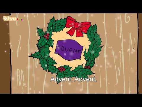 Advent, Advent ein Lichterl brennt - Karaoke Version (Sing Allein) in Deutscher Sprache mit Text