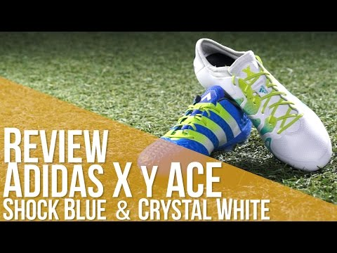 Review Adidas X y ACE Shock Blue & Crystal White
