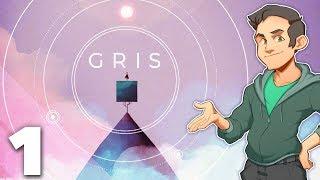 Gris - #1 - Let's Take an Art Tour!