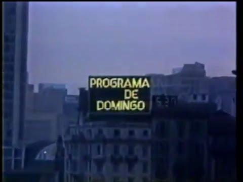Abertura Programa de Domingo 1983 - Rede Manchete