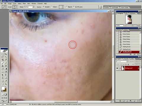 Видео уроки Фотошоп Adobe Photoshop Игорь Ульман Urok 09 Ретушь