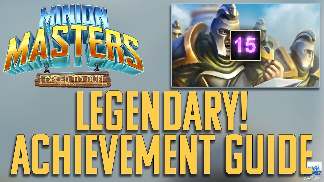 Minion Masters: Legendary! Achievement guide