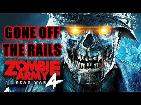 Catch Your Train at Platform 5 Gone off the Rails Zombie Army 4 |