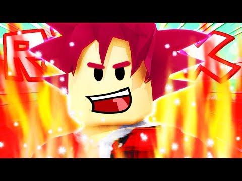 SUPER SAIYAN GOD, TRASFORMAZIONE DIVINA!! | Dragon Ball Super su Roblox ITA (Roleplay)