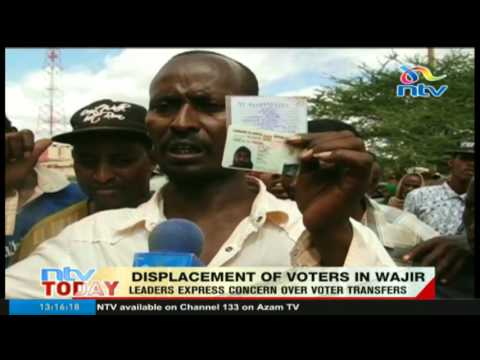 Leaders express concern over voter transfers in Wajir