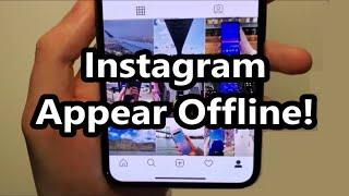Instagram How to Hide Active Status (Appear Offline)