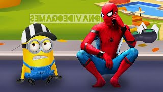 WHO IS BETTER? MINIONS VS SPIDER-MAN ?