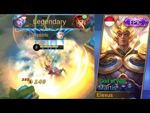 Martis Epic Skin God Of War Best Skin Full Legendary Gameplay