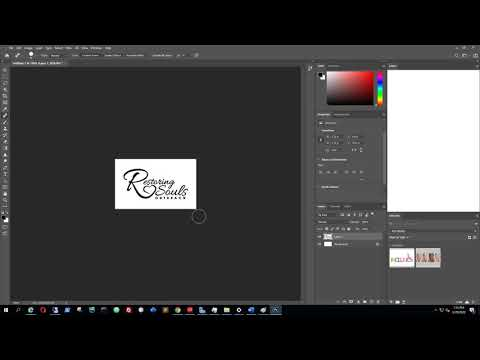 How To Convert An Image File PNG, JPG, BMP To An SVG File Format (with Adobe Photoshop) - March 2020