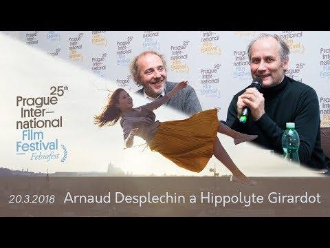 Arnaud DESPLECHIN | Hippolyte GIRARDOT   | Tisková konference MMF Praha - Febiofest 2018