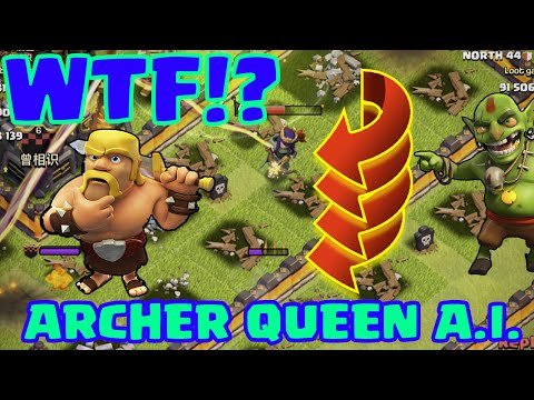 Clash of Clans   ARCHER QUEEN AI FIXED? DON'T THINK SO!