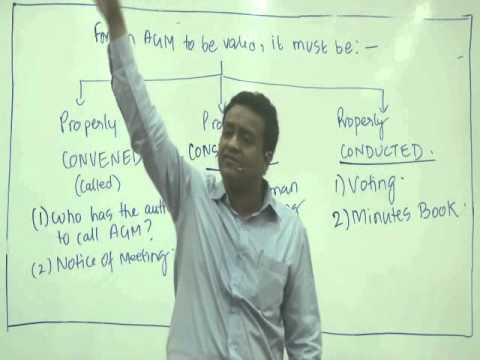 The Companies Act, 2013 - IPCC Law by Siddharth Agarwal