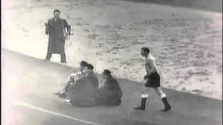 1953 friendly match .. England - Hungary 3-6 (full match)