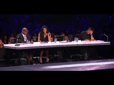 Peniss on X factor judge throws up (Geo Godly)