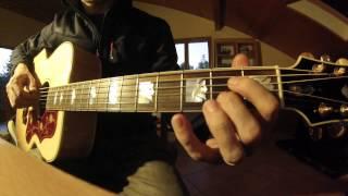 Brassens Le bistrot tutoriel guitare acoustique