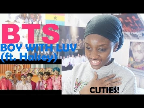 Download BTS (방탄소년단) - BOY WITH LUV (작은 것들을 위한 시) ft. HALSEY MV REACTION + MAP OF THE SOUL: PERSONA REVIEW