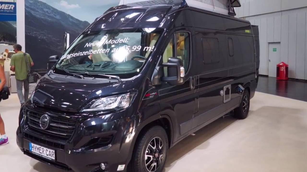 Hymercar yosemite caravan salon 2016 d sseldorf youtube for Salon caravaning