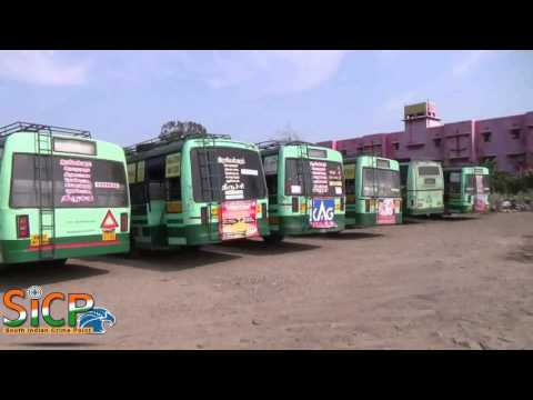 Transport strike hits normal life (Ramanathapuram District)