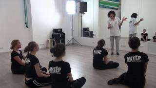 Студия Актер  Окрытый урок  Экзамен по танцу  Педагог  Делятицкая  Г А  23