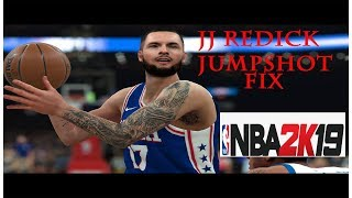 JJ Redick Jumpshot Fix - NBA 2k19