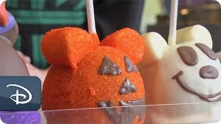 DIY Halloween: How-To Make 'Witch Minnie' Candy Apples | Disney Parks