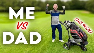 If I beat him YOU WIN HUGE PRIZE!   9 Hole Match with SHOCKING TWIST