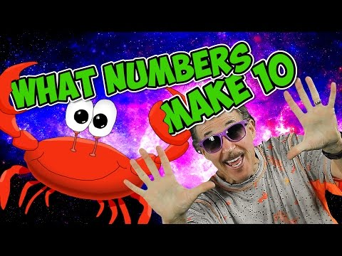 What Numbers Make 10  Learn to Add  Kindergarten Addition Song  Math for Kids  Jack Hartmann